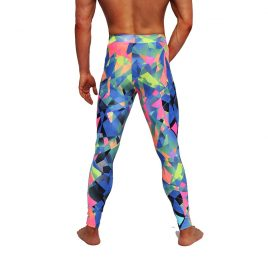 Coloured Mirror Meggings